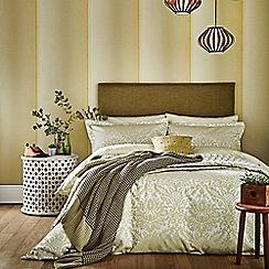 Bedeck 1951 - olive green 'Loya' bed linen