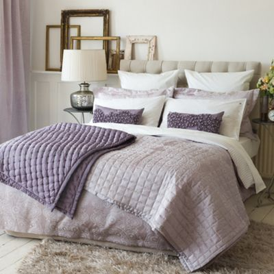 Bedeck Light pink ´Lucca´ bed linen - . -