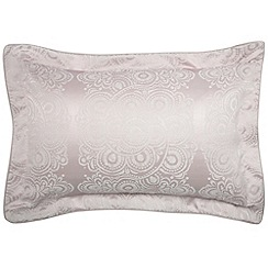 Bedeck - Light pink 'Lucca' oxford pillowcase