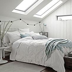 Bedeck - White 'Melodie' bed linen