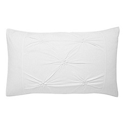Bedeck - White 'Melodie' pillowcase