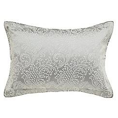 Bedeck - Silver 'Miramar' oxford pillowcase