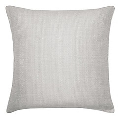 Harlequin - Silver 'Moriko' square pillowcase