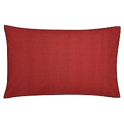 V & A - Red brick 'Moresque' standard pillowcase