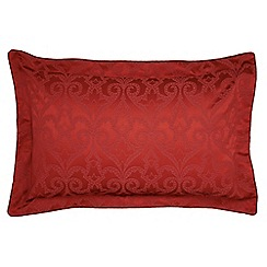 V & A - Red brick 'Moresque' oxford pillowcase