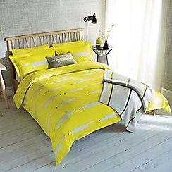 Scion - Bright green 'Mr Fox' bed linen