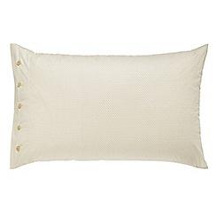 Bedeck 1951 - gold 'Nala' standard pillowcase