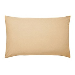 Sanderson - Gold 'polycotton percale' plain dye