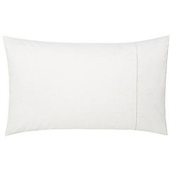 Fable - Natural 'Orlantha' standard pillowcase