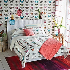Harlequin - multicoloured 'Papilio' bed linen