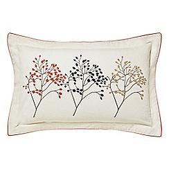 Sanderson - Multicoloured cotton 'Pippin' Oxford pillow case