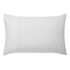 Bedeck - White 'Radiance' pillowcase