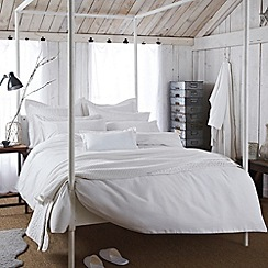 Bedeck - White 'Sanctuary' bed linen
