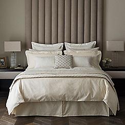 Fable - Light gold 'Saverne' bed linen