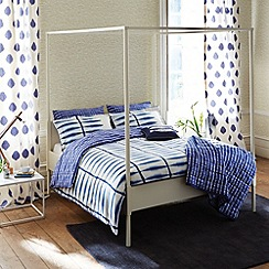 Scion - Blue 'Shibori' bed linen