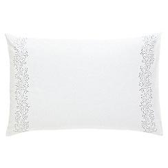 Sanderson - Grey 'Simi' standard pillowcase