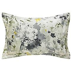 Sanderson - Grey 'Simi' oxford pillowcase