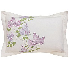 Sanderson - Lilac 'Lilacs' oxford pillowcase