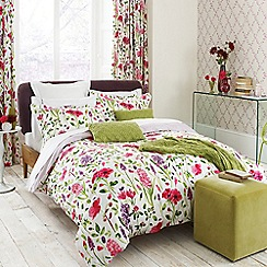 Sanderson - Multicoloured 'Spring flowers' bed linen