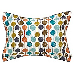 Scion - Multicoloured 'Taimi' oxford pillowcase