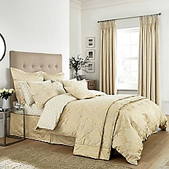 Sanderson - Soft Gold 'Thisbe' bed linen