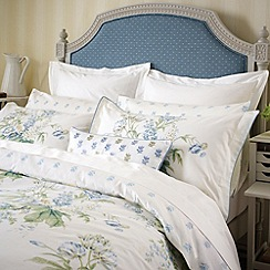 Sanderson - Blue 'Tournier' bed linen