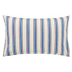 Little Sanderson - Kids' blue 300 thread count 'Treasure Map' pillow case