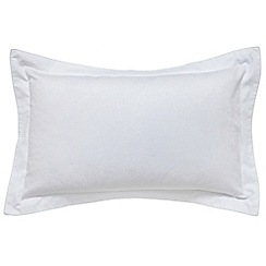Fable - White 350 thread count 'Vauville' Oxford pillow case