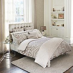 Harlequin - Taupe 'Vortex' bed linen