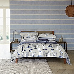 Sanderson - Blue 'Willow Tree' bed linen