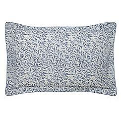 Morris & Co - Light blue 'Willow Bough' oxford pillowcase