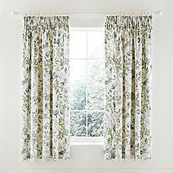 Sanderson - pale blue 'Abbeville' curtains