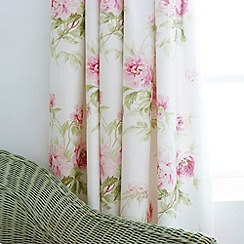 Sanderson - Pink 'Adele' curtains