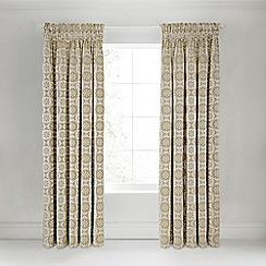 Bedeck 1951 - Taupe 'Alie' curtains