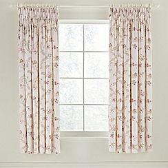 Sanderson - Pink 'Anna Maria' curtains