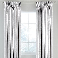Fable - Silver 'Beaumont' curtains