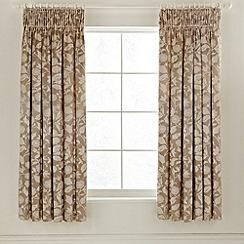 Sanderson - Natural 'Bird Blossom' curtains