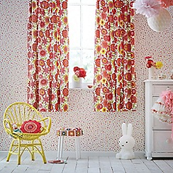 Scion Kids - multicoloured 'Bloomin Lovely' curtains
