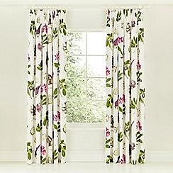Sanderson - Multicoloured 'Capuchins' curtains