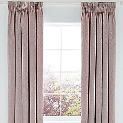 Fable - Light purple cotton 350 thread count 'Chera' lined curtains