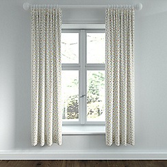 Helena Springfield - Light blue polycotton 'Eva' lined curtains