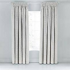 Sanderson - Silver 'Fabienne' curtains