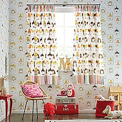 Scion Kids - multicoloured 'Hello Dolly' curtains