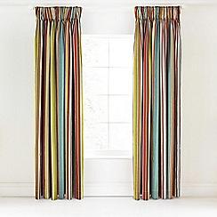 Bedeck - Multicoloured 'Ila' curtains