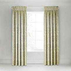 Bedeck 1951 - Olive Green 'Loya' curtains