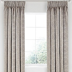 Bedeck 1951 - Light purple cotton 'Minoa' lined curtains