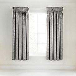 Bedeck - Silver 'Miramar' curtains