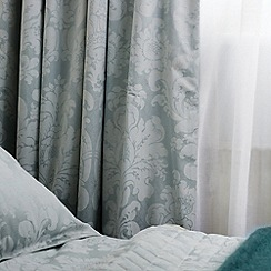 Bedeck - Aqua 'Natalia' curtains