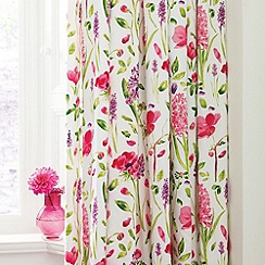 Sanderson - Multicoloured 'Spring flowers' curtains