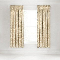 Sanderson - Soft Gold 'Thisbe' curtains